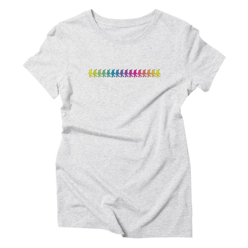 Rainbowalker Women's Triblend T-shirt by timrobot's Artist Shop