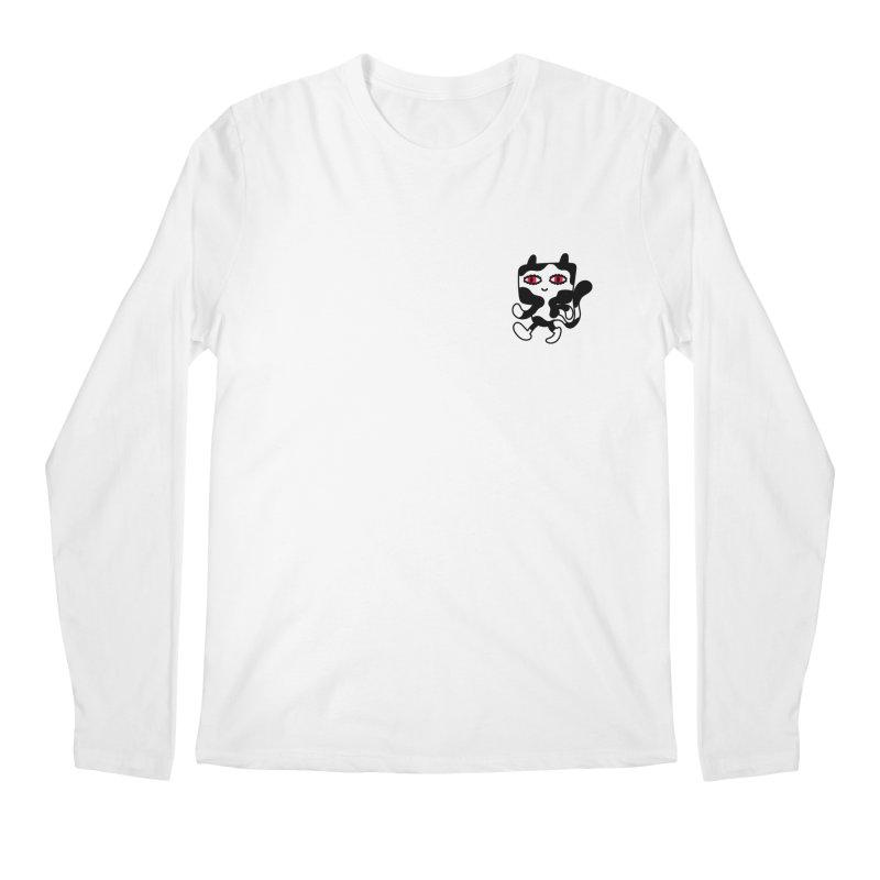 CATWALK Pocket Men's Longsleeve T-Shirt by timrobot's Artist Shop