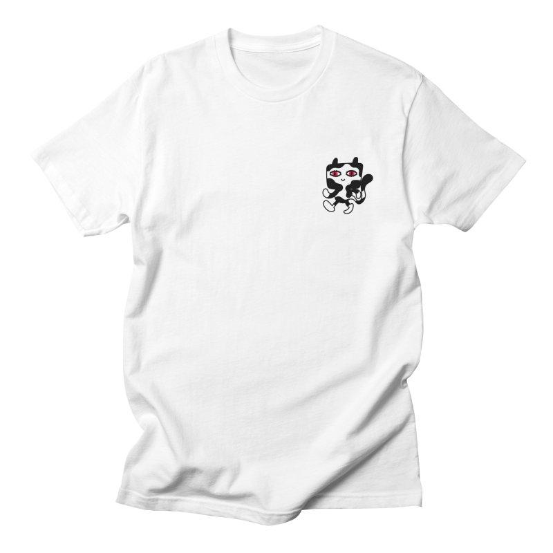 CATWALK Pocket Men's T-shirt by timrobot's Artist Shop