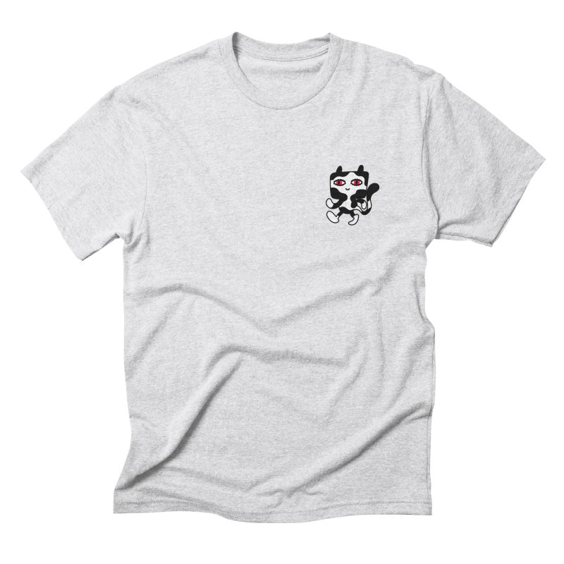 CATWALK Pocket Men's Triblend T-shirt by timrobot's Artist Shop
