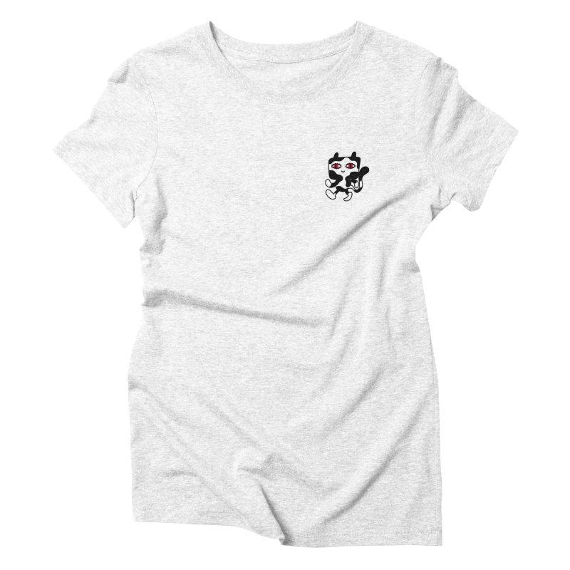 CATWALK Pocket Women's Triblend T-shirt by timrobot's Artist Shop