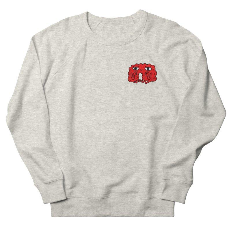 Brain Vs. Heart Pocket  Men's Sweatshirt by timrobot's Artist Shop