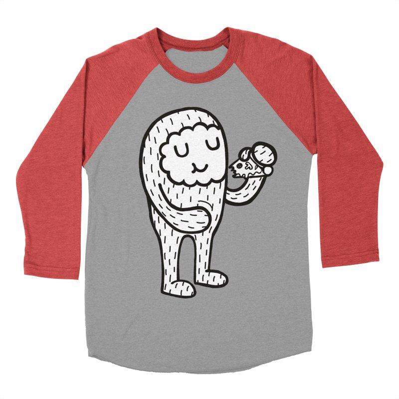 PIZZA! Men's Baseball Triblend T-Shirt by timrobot's Artist Shop