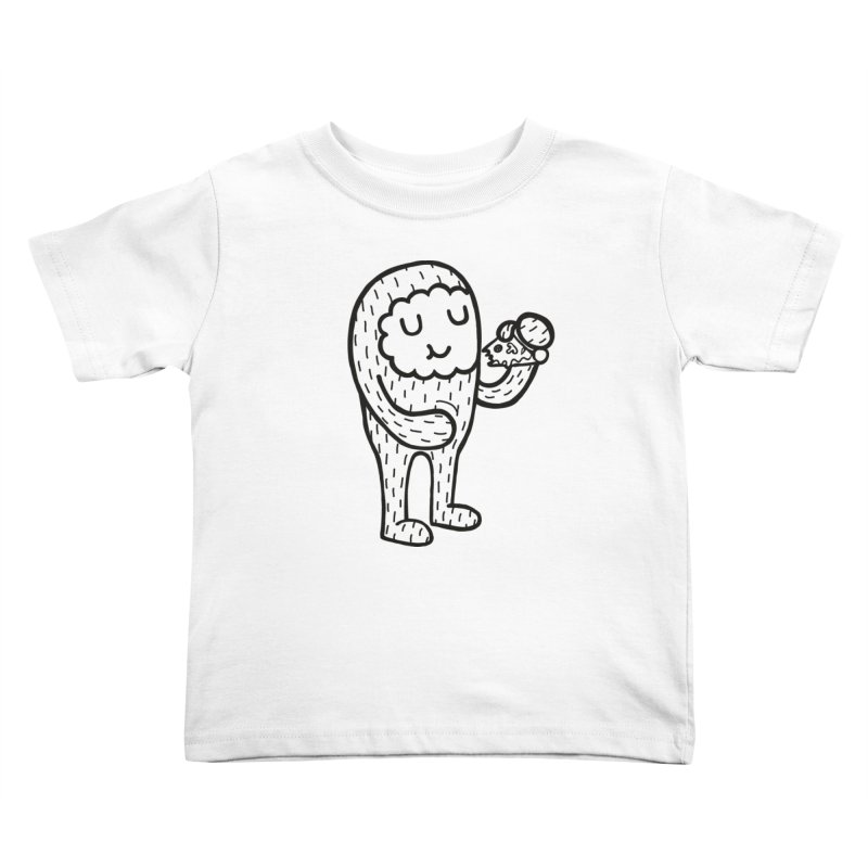 Pizza! Kids Toddler T-Shirt by timrobot's Artist Shop