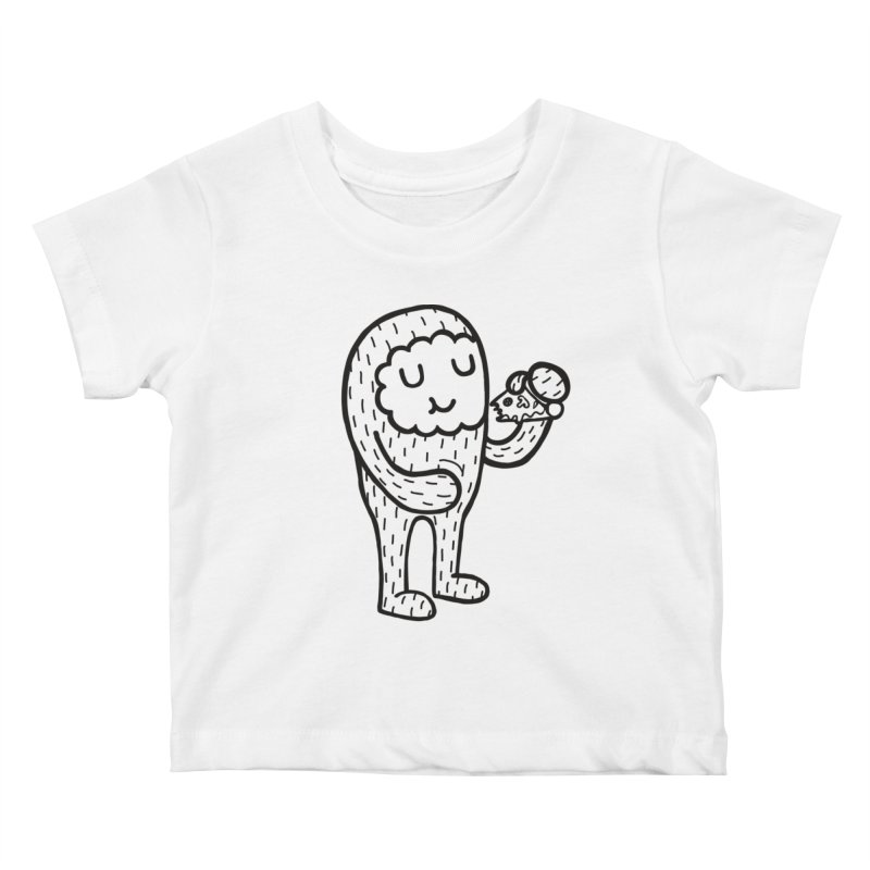 Pizza! Kids Baby T-Shirt by timrobot's Artist Shop