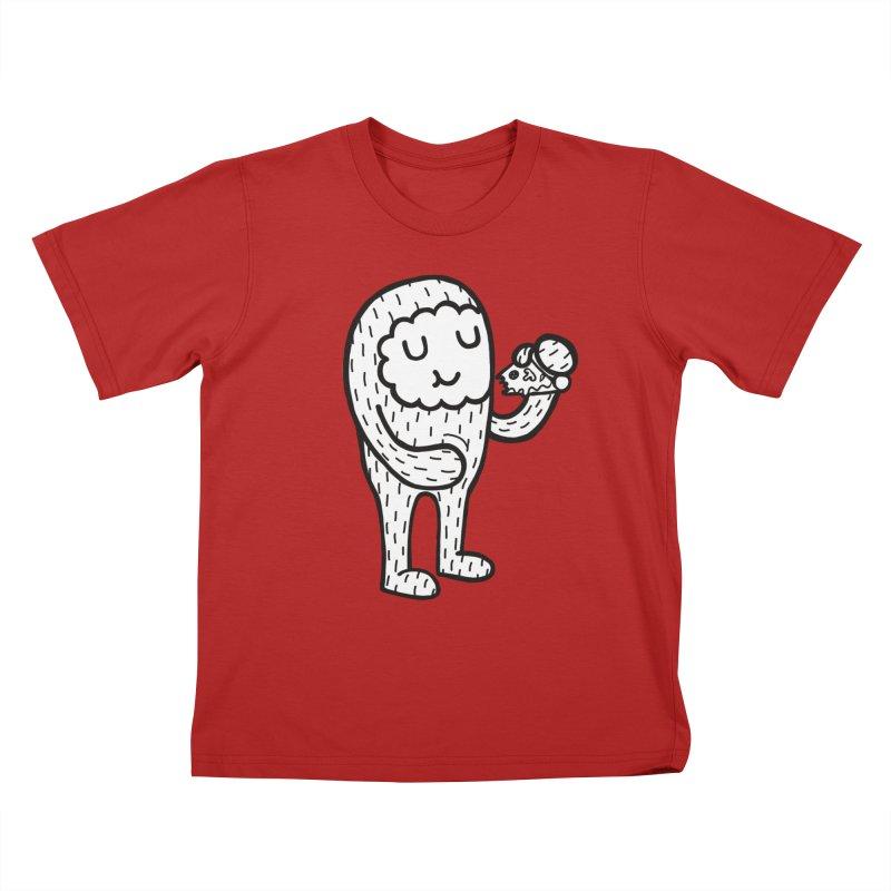 PIZZA! Kids T-shirt by timrobot's Artist Shop