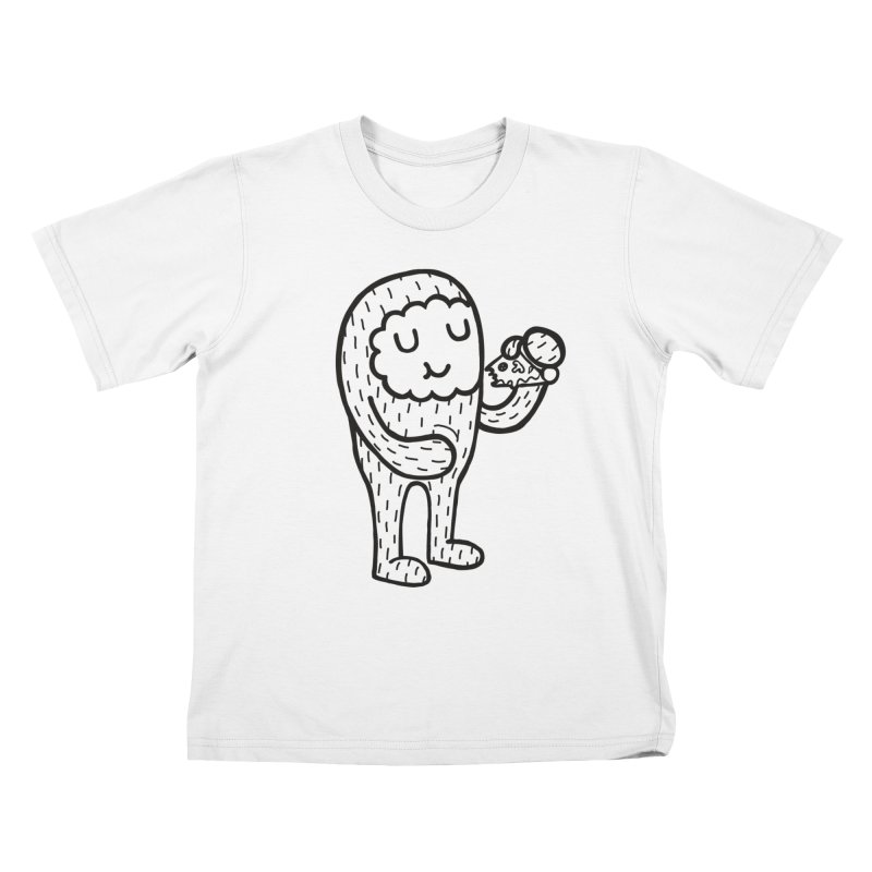 Pizza! Kids T-Shirt by timrobot's Artist Shop