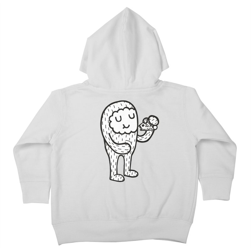 Pizza! Kids Toddler Zip-Up Hoody by timrobot's Artist Shop