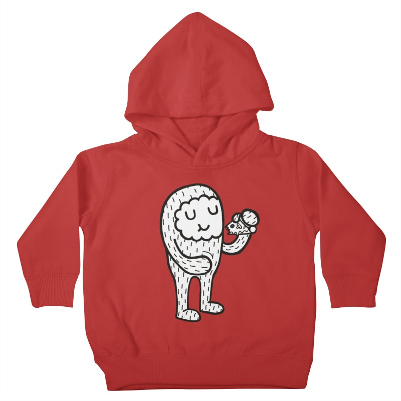 PIZZA! Kids Toddler Pullover Hoody by timrobot's Artist Shop