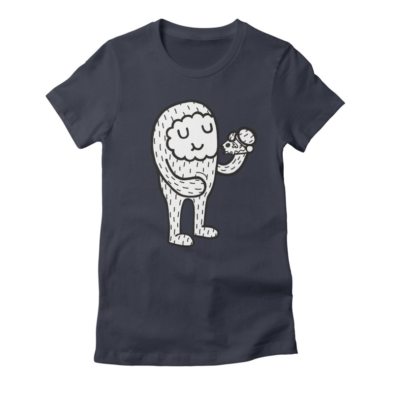 PIZZA! Women's Fitted T-Shirt by timrobot's Artist Shop