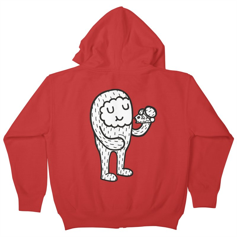 Pizza! Kids Zip-Up Hoody by timrobot's Artist Shop