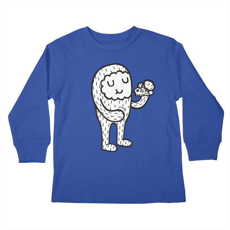 Pizza! Kids Longsleeve T-Shirt by timrobot's Artist Shop