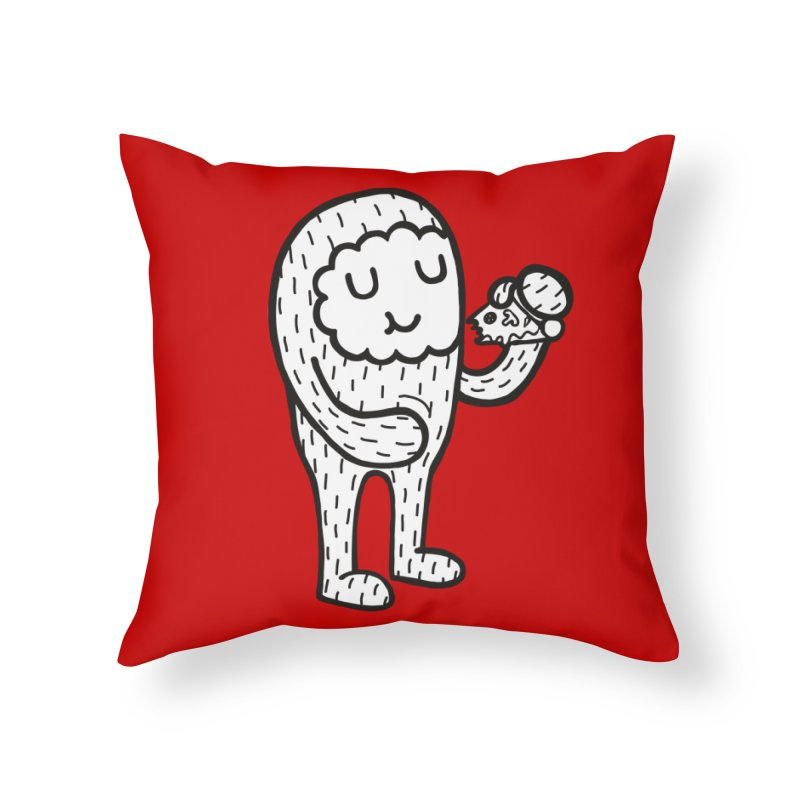 Pizza! Home Throw Pillow by timrobot's Artist Shop