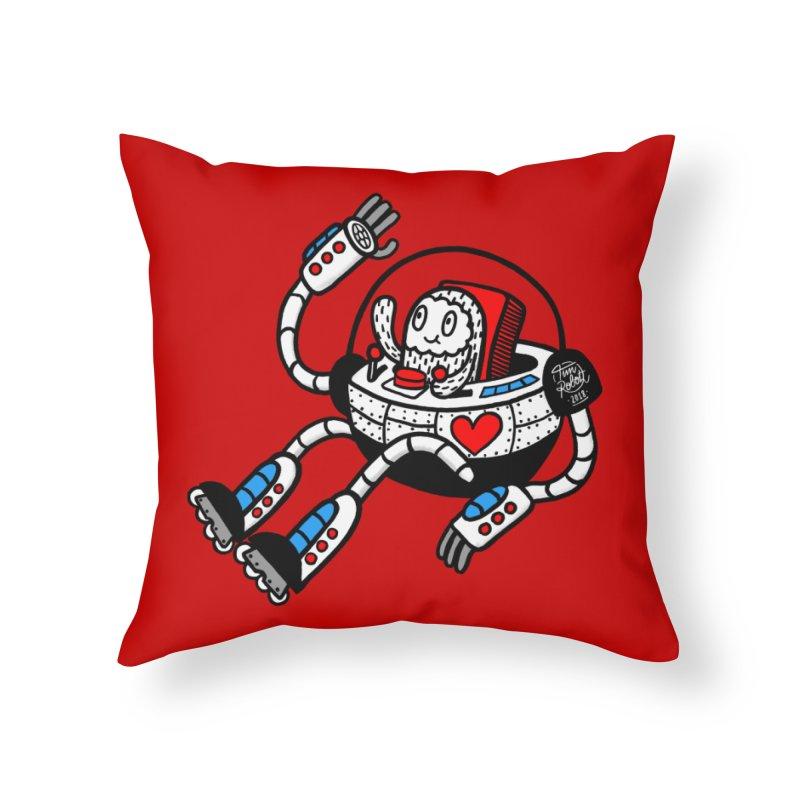 Bladebot Home Throw Pillow by timrobot's Artist Shop