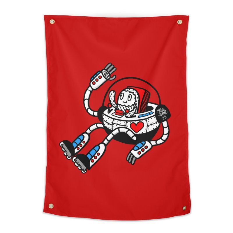 Bladebot Home Tapestry by timrobot's Artist Shop
