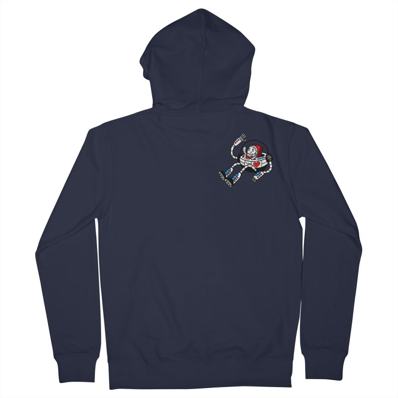Bladebot Men's Zip-Up Hoody by timrobot's Artist Shop