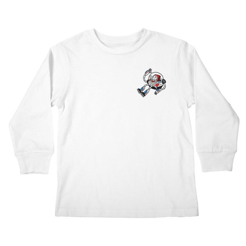 Bladebot Kids Longsleeve T-Shirt by timrobot's Artist Shop
