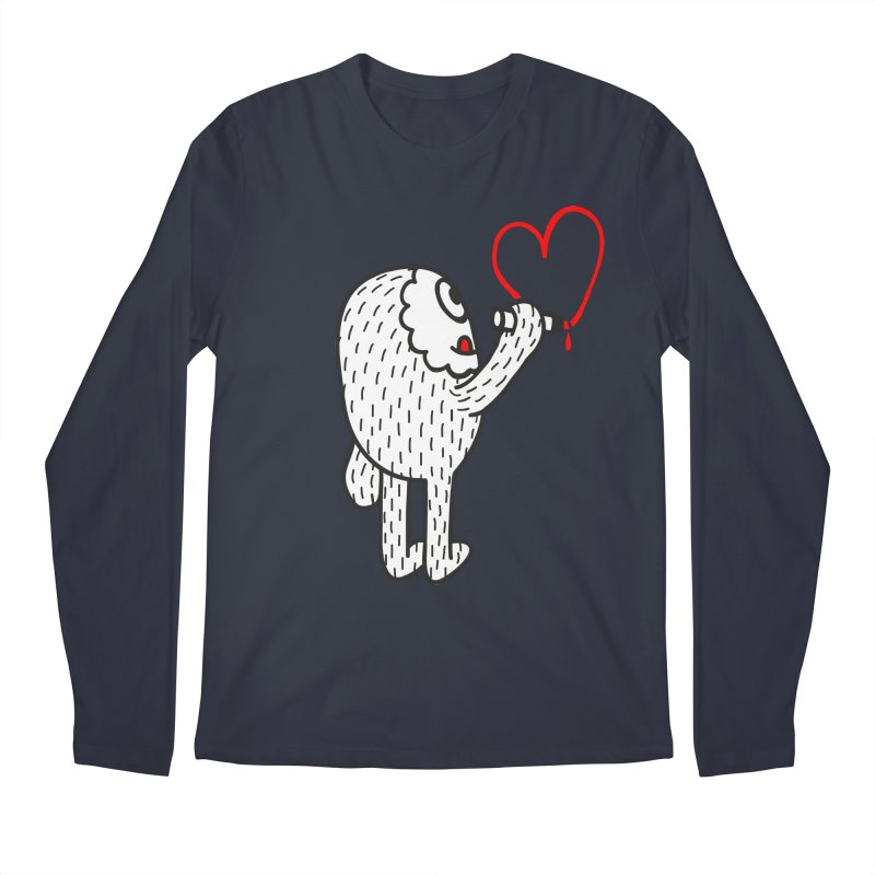 Spread Love Men's Longsleeve T-Shirt by timrobot's Artist Shop