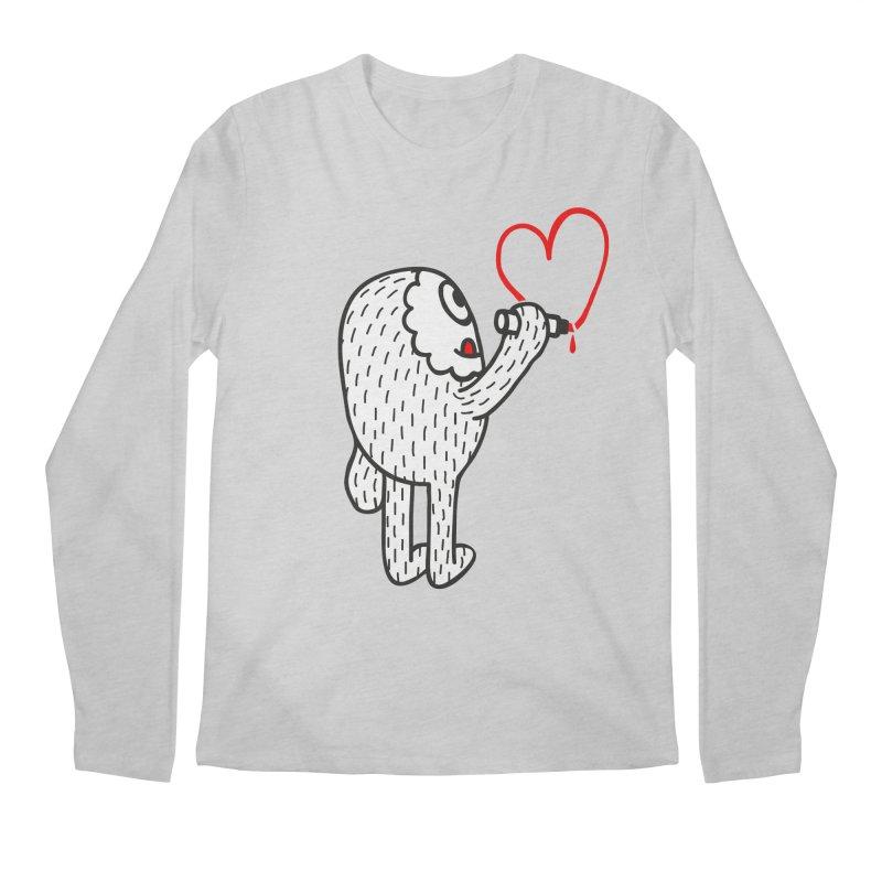 Spread Love Men's Longsleeve T-Shirt by timrobot's Artist Shop