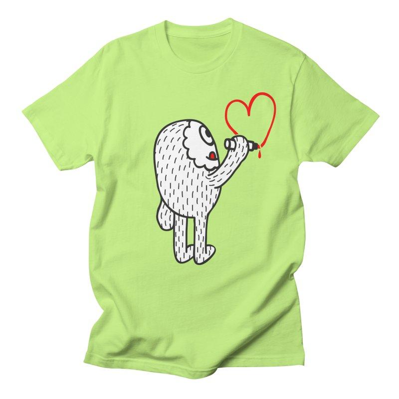 Spread Love Men's T-shirt by timrobot's Artist Shop