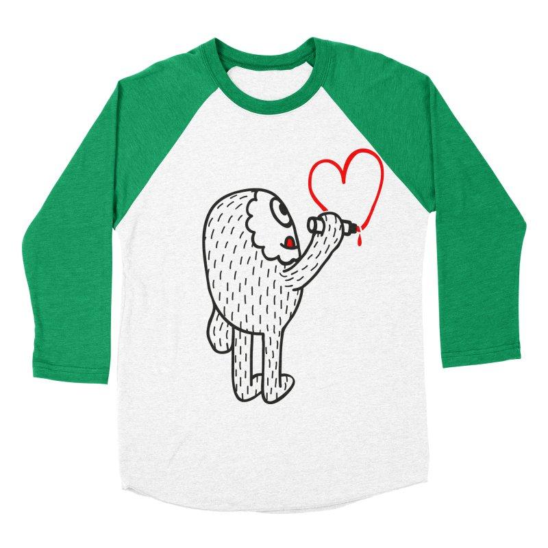 Spread Love Women's Baseball Triblend T-Shirt by timrobot's Artist Shop
