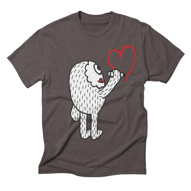 Spread Love Men's Triblend T-shirt by timrobot's Artist Shop