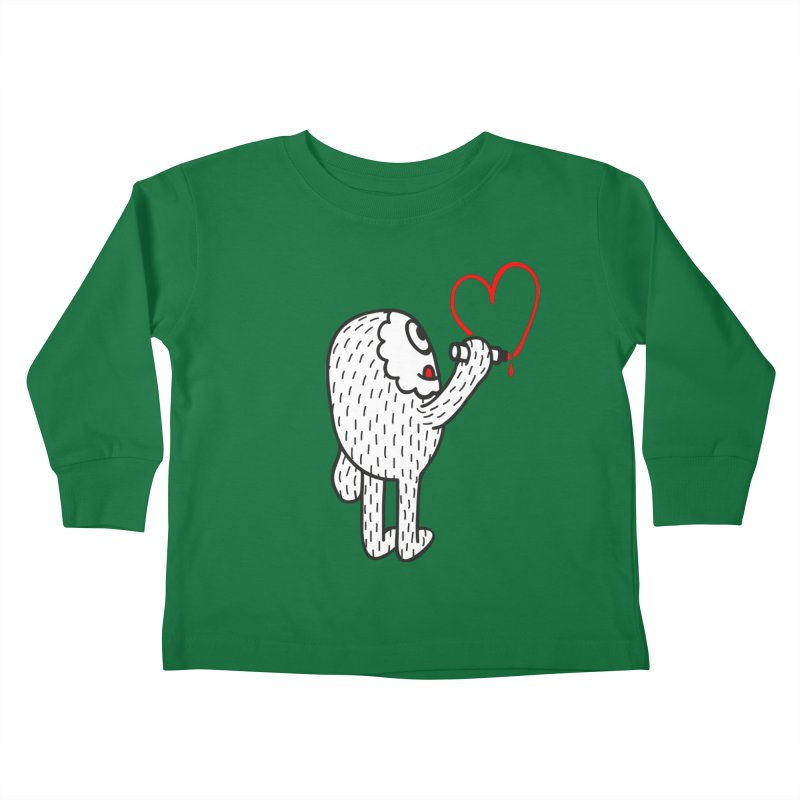 Spread Love Kids Toddler Longsleeve T-Shirt by timrobot's Artist Shop