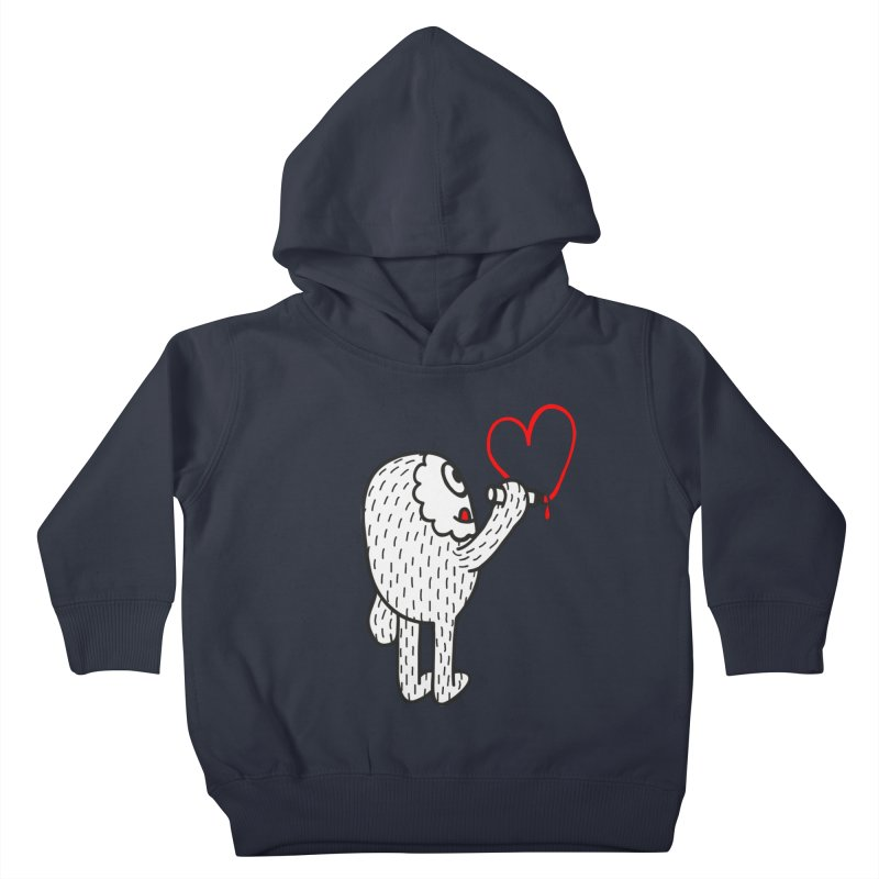 Spread Love Kids Toddler Pullover Hoody by timrobot's Artist Shop