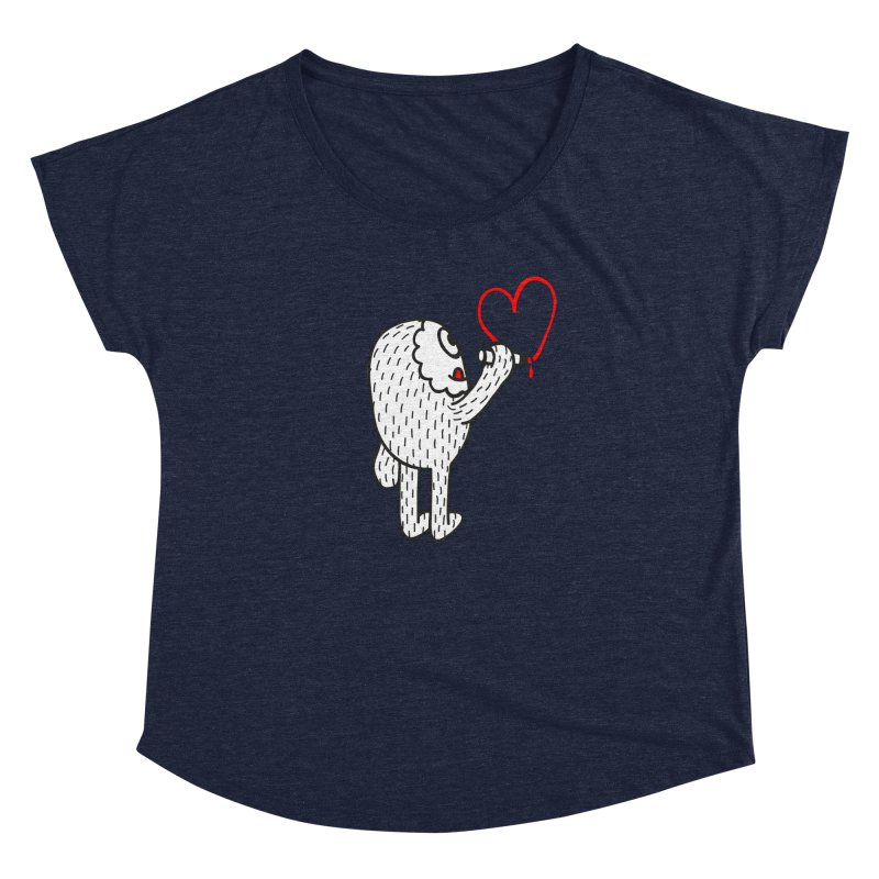 Spread Love Women's Dolman by timrobot's Artist Shop