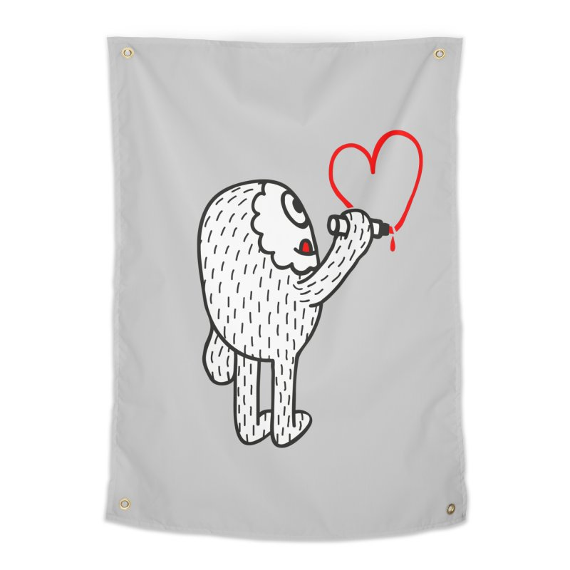 Spread Love Home Tapestry by timrobot's Artist Shop