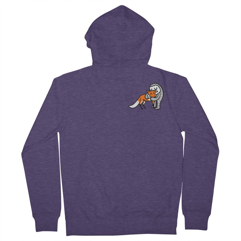 Fox Hug Men's Zip-Up Hoody by timrobot's Artist Shop