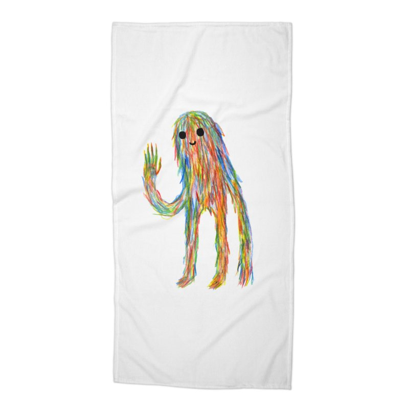 Hi Accessories Beach Towel by timrobot's Artist Shop