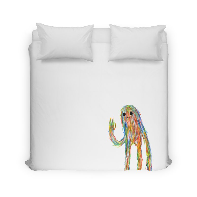 Hi Home Duvet by timrobot's Artist Shop