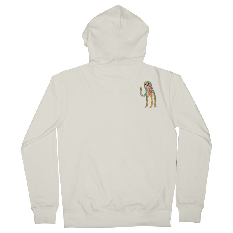 Hi Men's Zip-Up Hoody by timrobot's Artist Shop