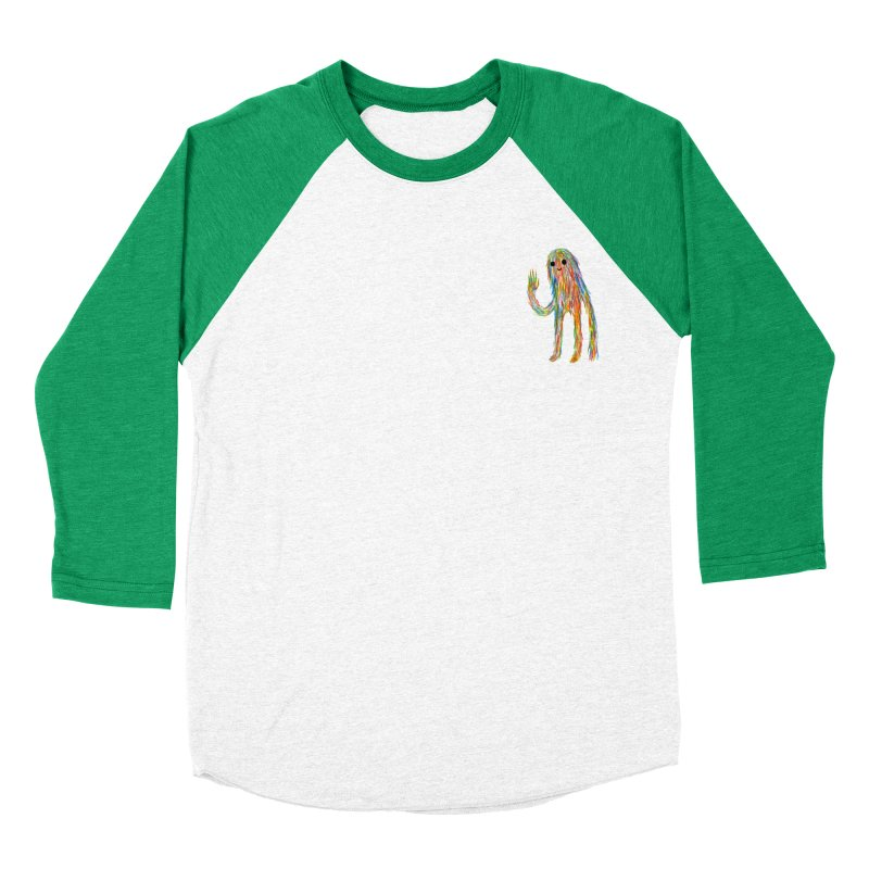 Hi Women's Baseball Triblend T-Shirt by timrobot's Artist Shop