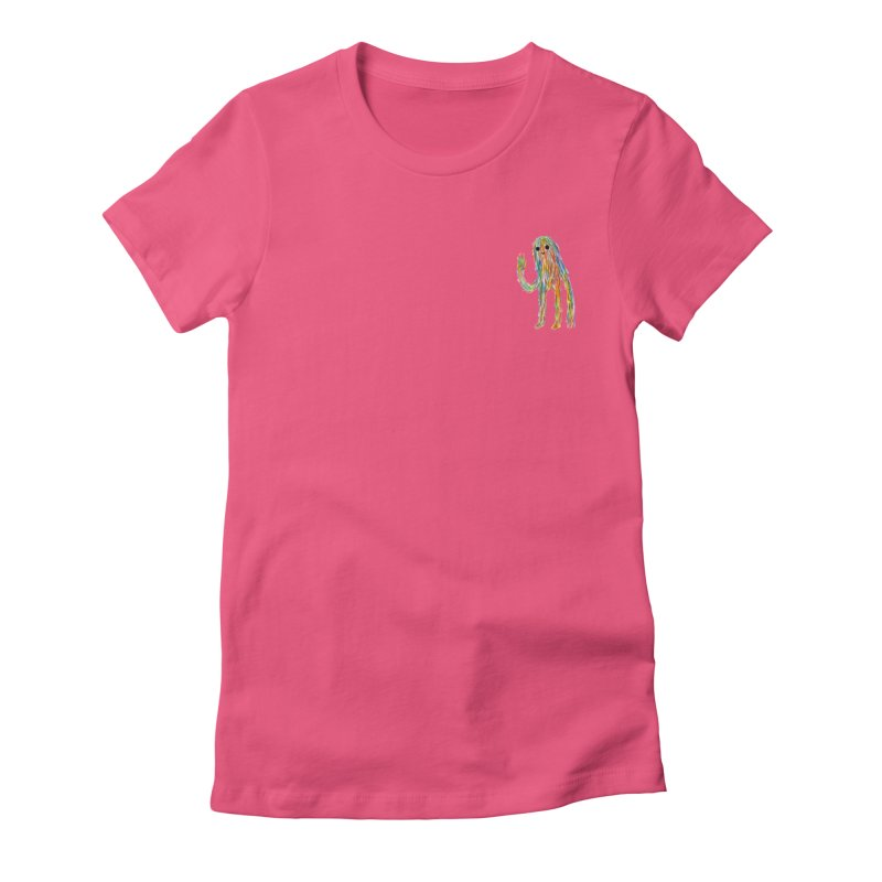 Hi Women's Fitted T-Shirt by timrobot's Artist Shop