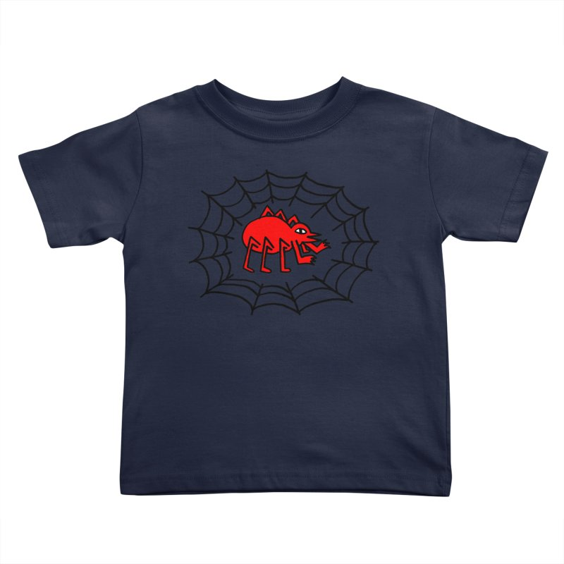 Spider Kids Toddler T-Shirt by timrobot's Artist Shop