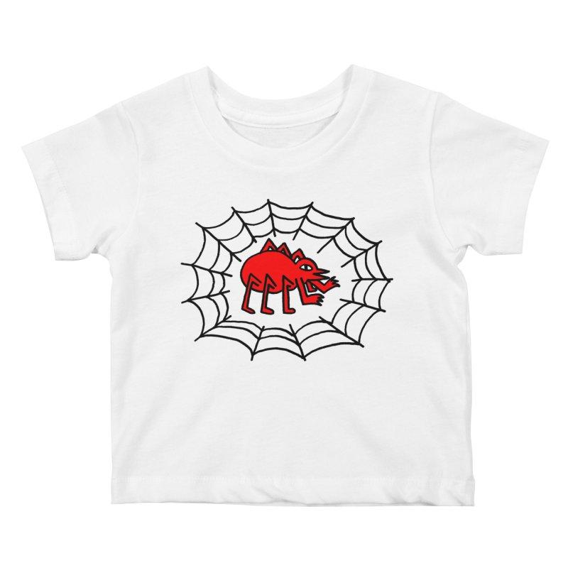Spider Kids Baby T-Shirt by timrobot's Artist Shop