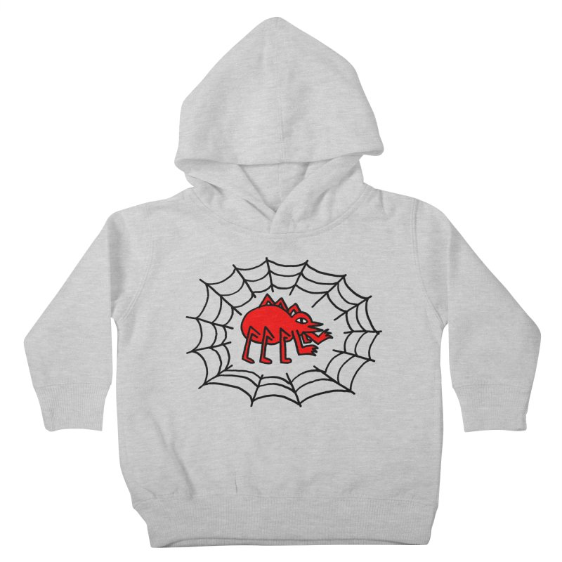 Spider Kids Toddler Pullover Hoody by timrobot's Artist Shop