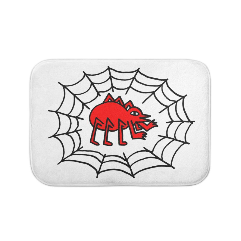 Spider Home Bath Mat by timrobot's Artist Shop