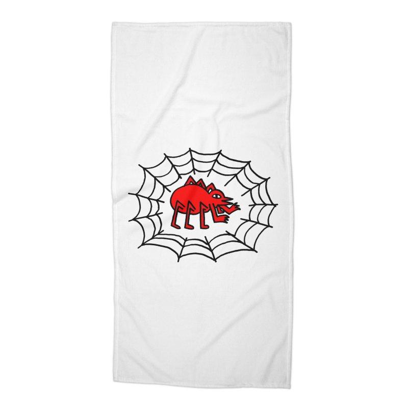 Spider Accessories Beach Towel by timrobot's Artist Shop