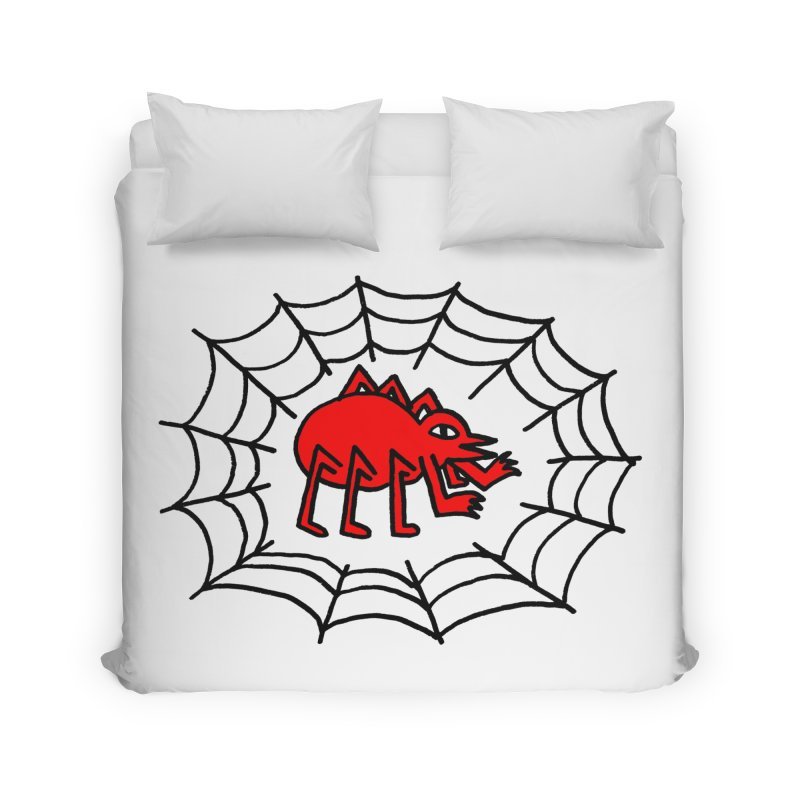 Spider Home Duvet by timrobot's Artist Shop