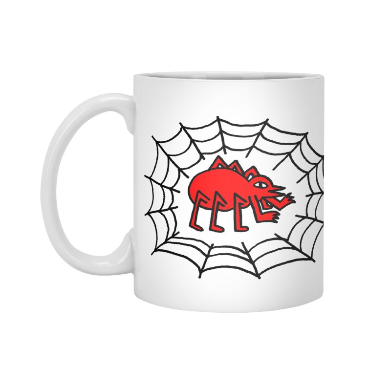 Spider Accessories Mug by timrobot's Artist Shop