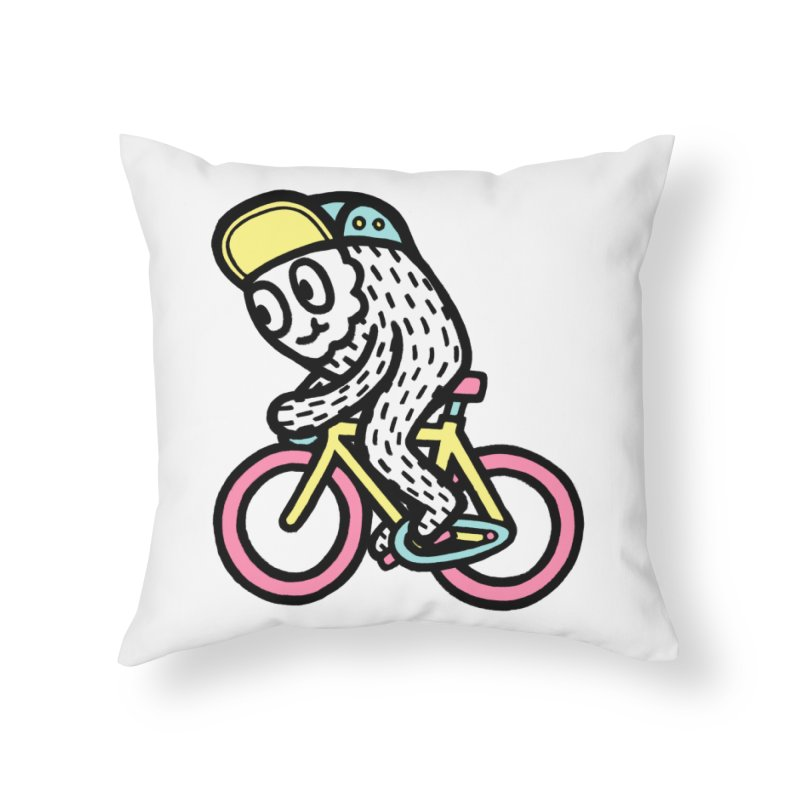 Bike Fun Home Throw Pillow by timrobot's Artist Shop