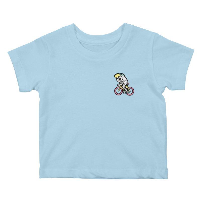 Bike Fun Kids Baby T-Shirt by timrobot's Artist Shop