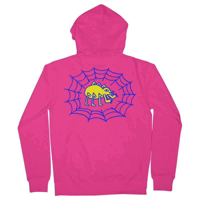 Spider Men's Zip-Up Hoody by timrobot's Artist Shop