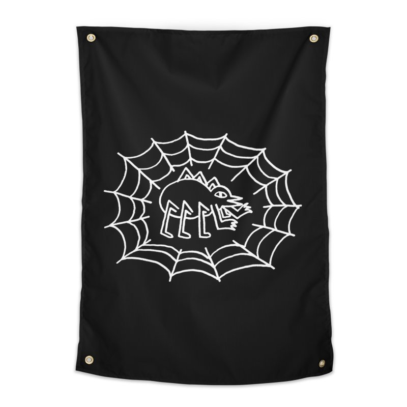 Spider Home Tapestry by timrobot's Artist Shop