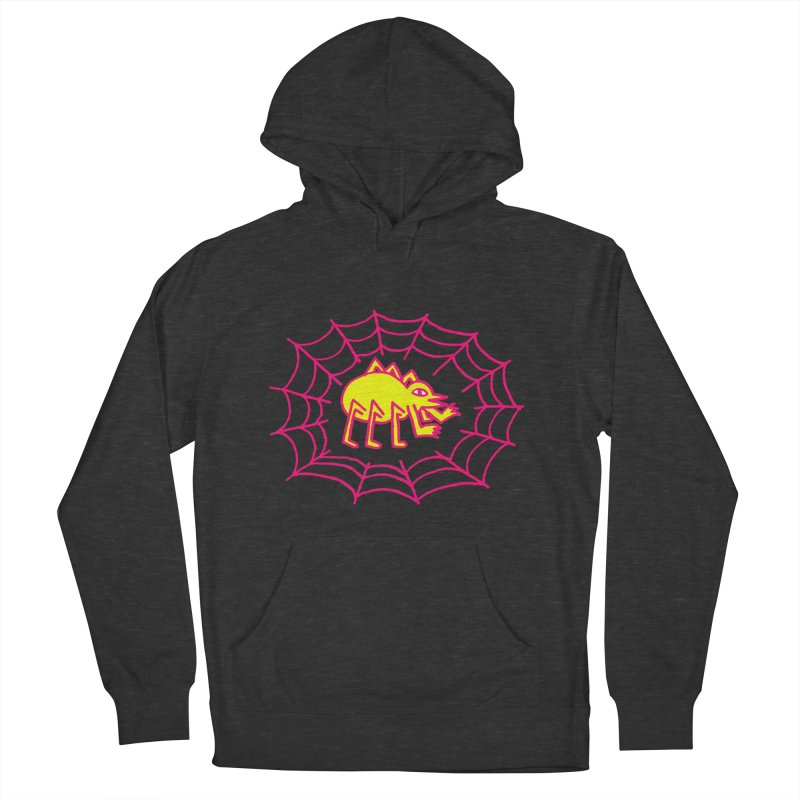 Neon Spider Men's Pullover Hoody by timrobot's Artist Shop