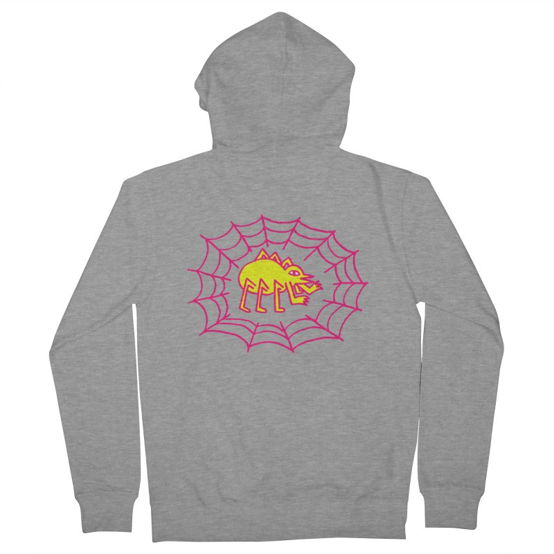 Neon Spider Men's Zip-Up Hoody by timrobot's Artist Shop