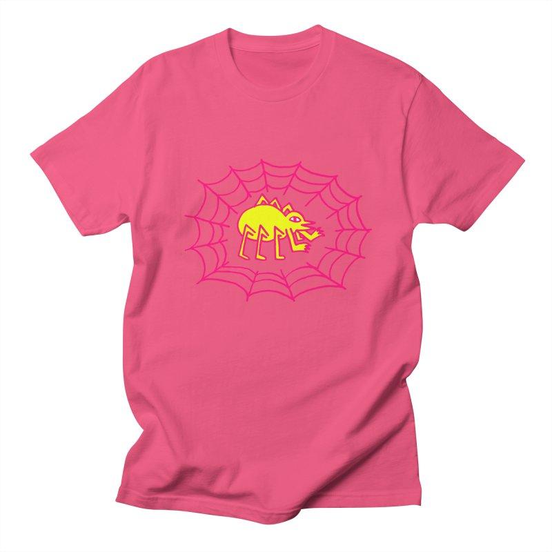 Neon Spider Women's Regular Unisex T-Shirt by timrobot's Artist Shop